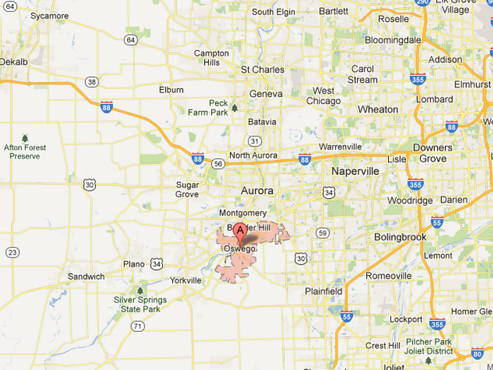 Home Inspection Service Area - Oswego and Chicago Suburbs, IL